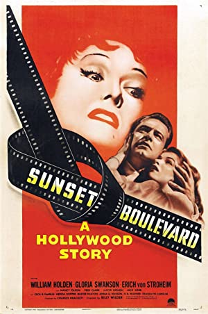 Sunset Blvd. poster
