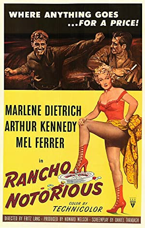 Rancho Notorious poster